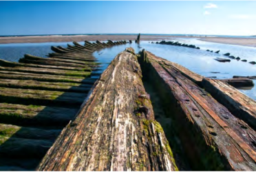 Shipwreck of Dreams at Higgins Beach by LaMarche