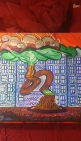 City Tree by Curran