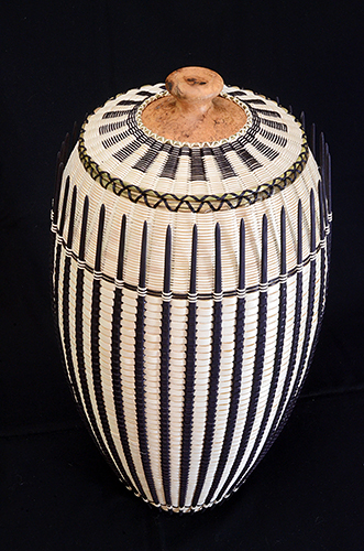 Basket created by Jeremy Frey (Passamaquoddy) with the support of a 2014 NACF Artist Fellowship