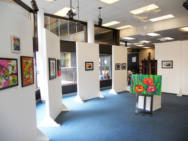 The 6 x 8 gallery panels for sale for only $25- or best offer at the Constellation Gallery