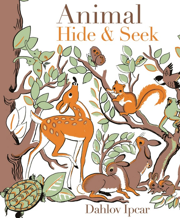 Dahlov Ipcar's book, Animal Hide & Seek
