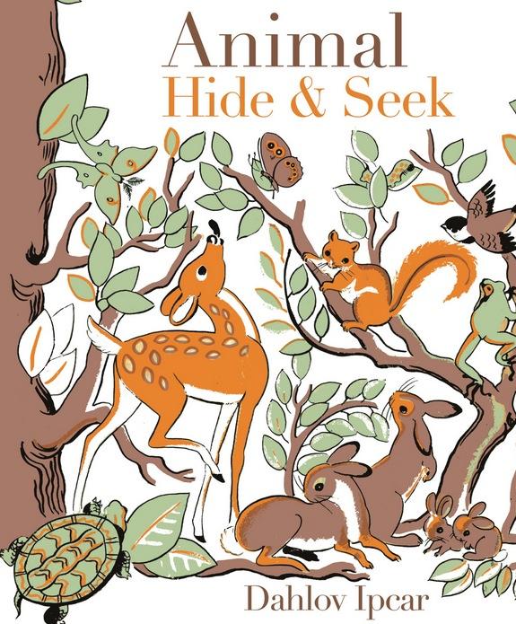 Dahlov Ipcar's book, Animal Hide & Seek