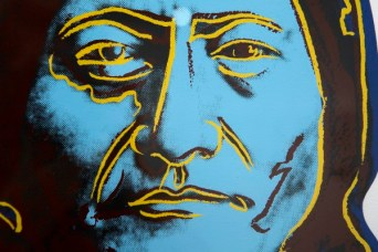 BANGOR, MAINE -- 05/27/2015 - Andy Warhol: Photographs & Screenprints exhibit is seen at the University of Maine Museum of Art in Bangor Wednesday. Ashley L. Conti | BDN