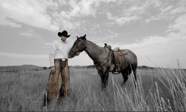 Steven Yellowtail, tribal affiliation: Crow Nation Photograph: Makita Wilbur