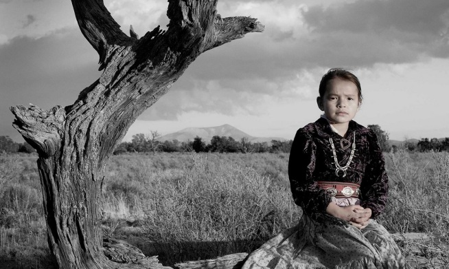 Bahazhoni Tso Tribal Affiliation: Navajo Nation Photograph: Matika Wilbur